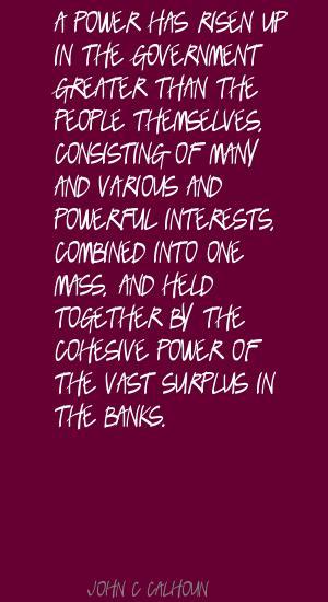 Cohesive quote #1
