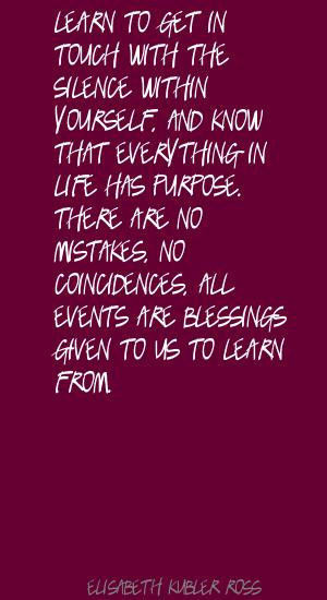 Coincidences quote #2