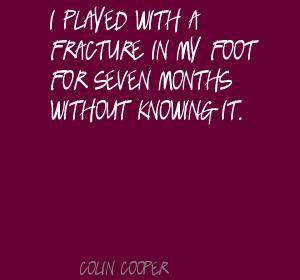 Colin Cooper's quote