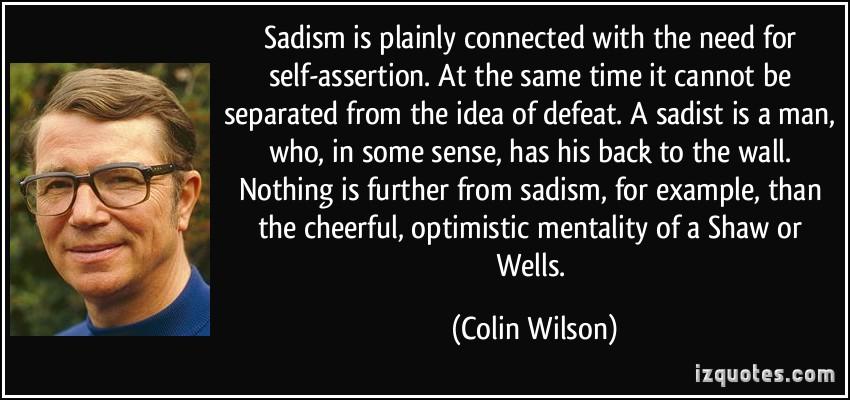 Colin Wilson's quote