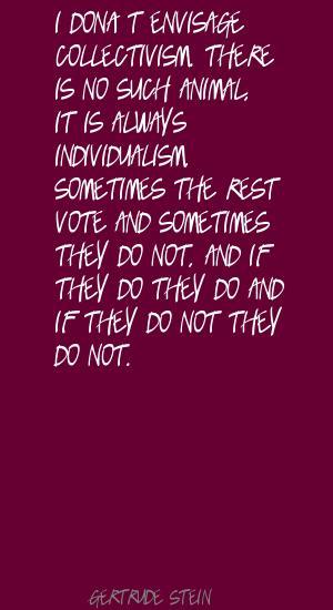 Collectivism quote #1