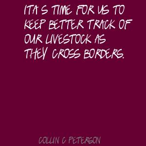 Collin C. Peterson's quote #3