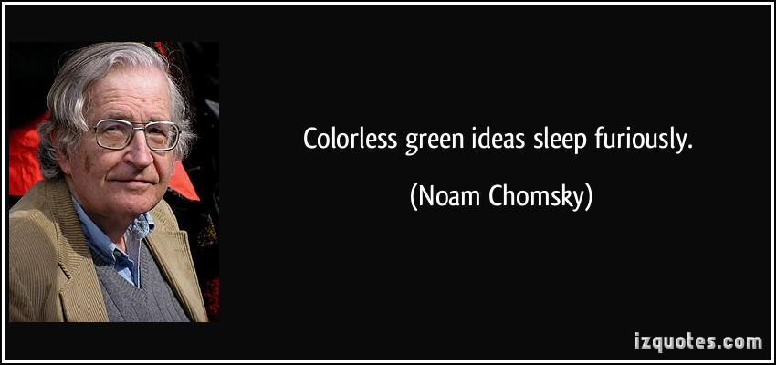 Colorless quote #1