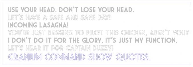 Command quote #2