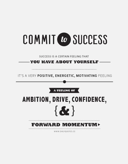 Commit quote #1