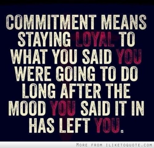 Commitments quote #2