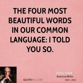 Common Language quote #2