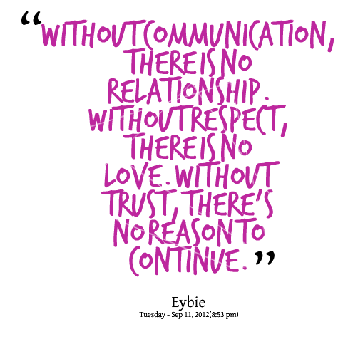 Communication quote #4