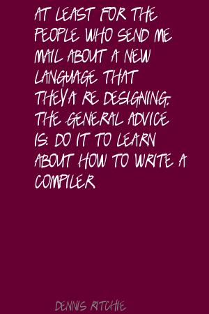 Compiler quote #2