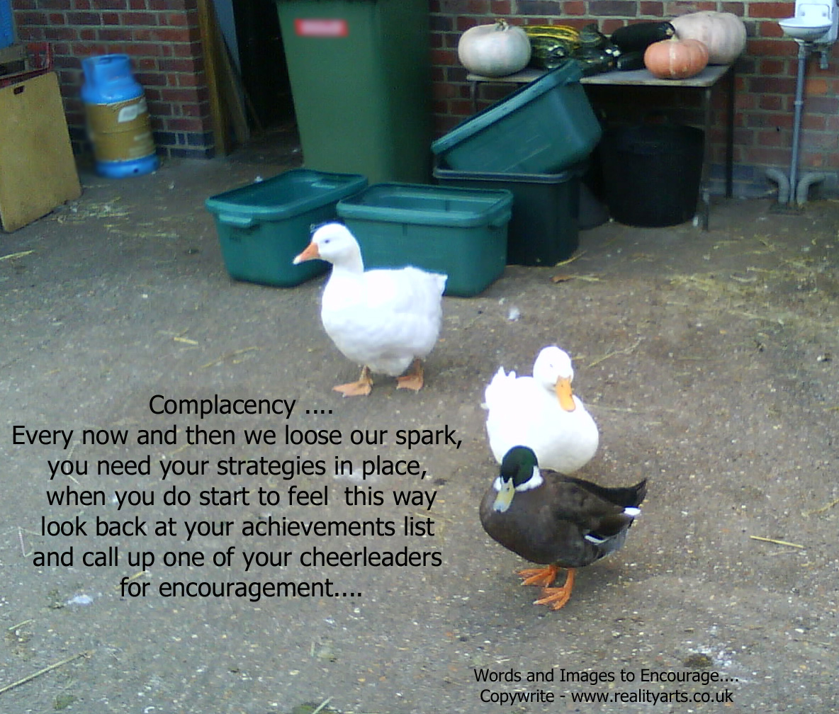 Complacency quote #2