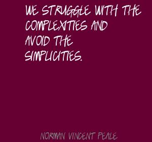 Complexities quote #2