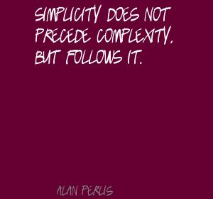 Complexity quote #4