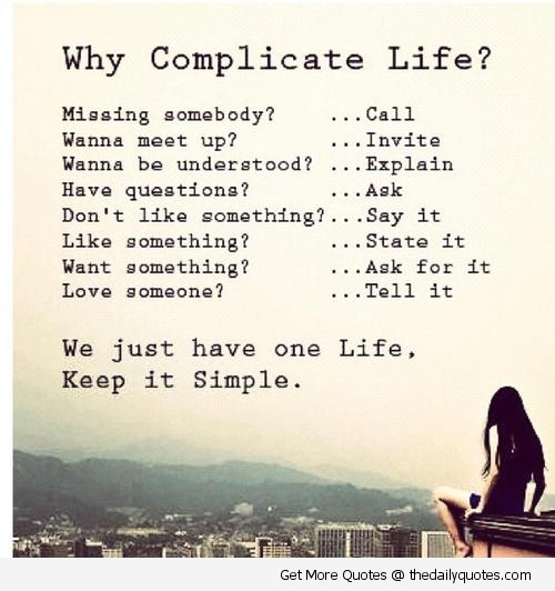Complication quote #2