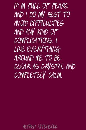 Complications quote #1