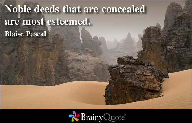 Concealed quote #1