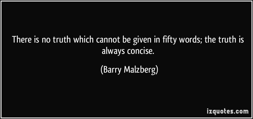 Concise quote #2