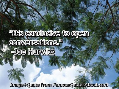 Conducive quote #2