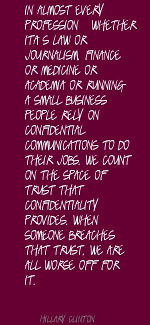 Confidential quote #2