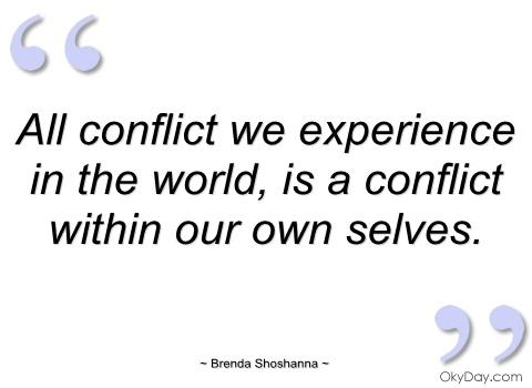 Conflict quote #5
