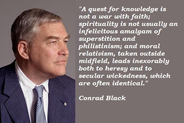 Conrad Black's quote #5