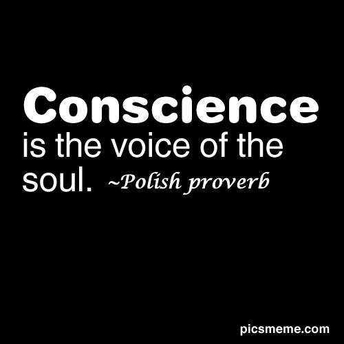 Conscience quote #1