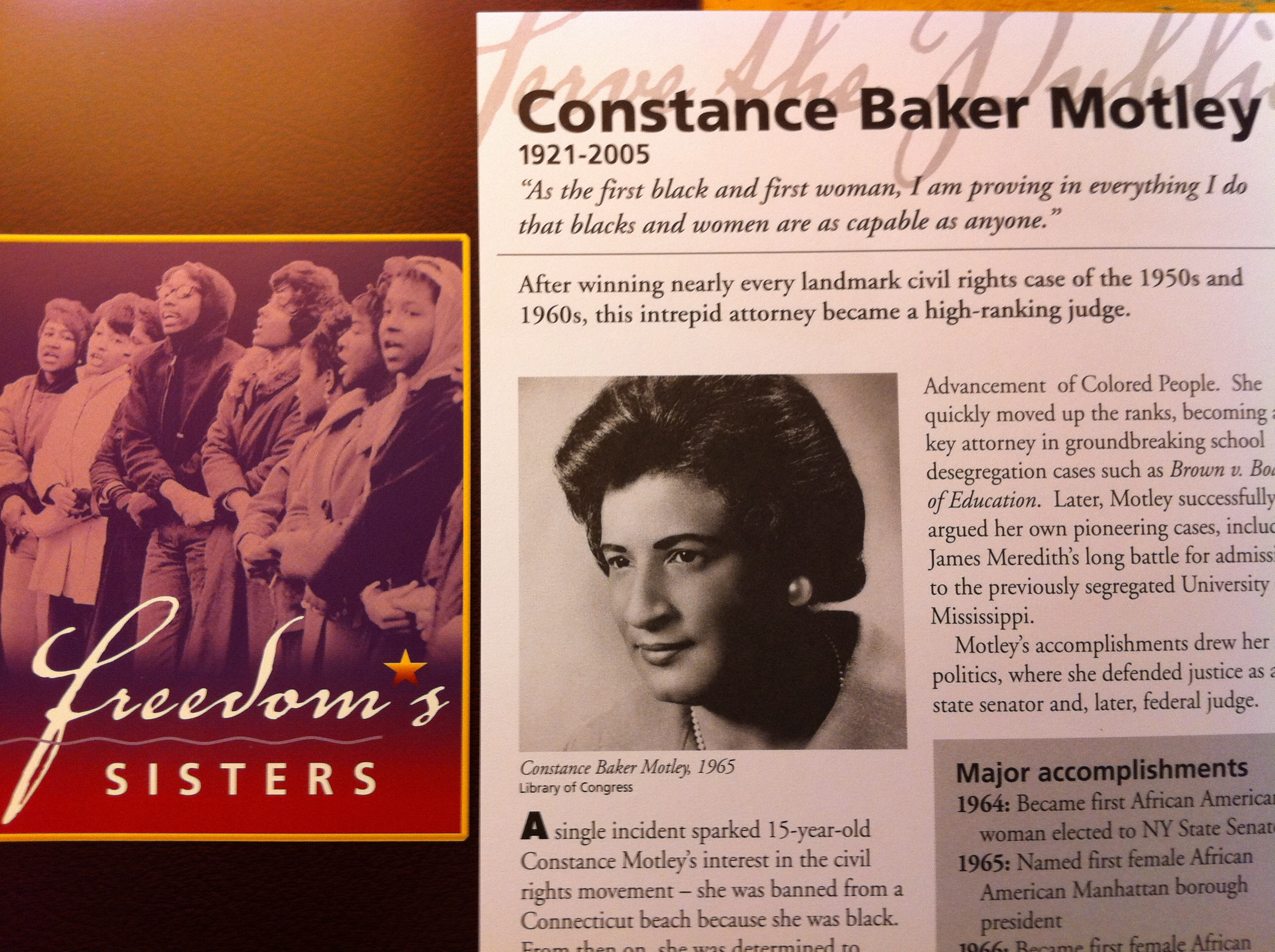 Constance Baker Motley's quote #2