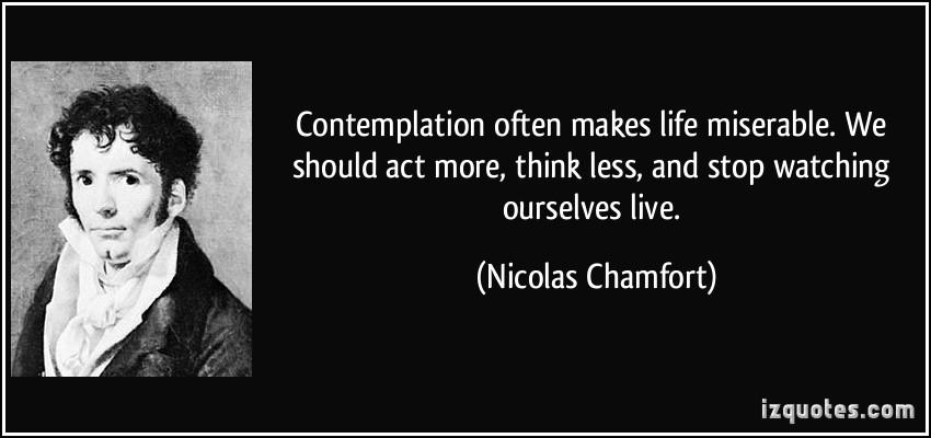 Contemplation quote #2