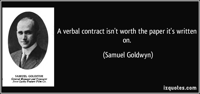 Contract quote #6