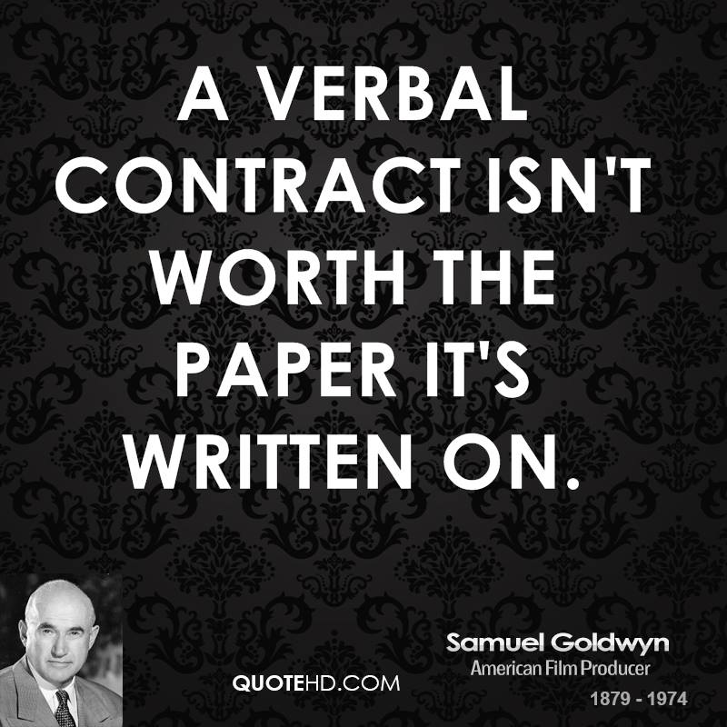 Contract quote #4