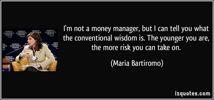Conventional Wisdom quote #1