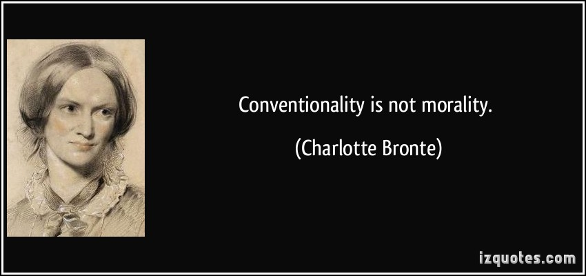 Conventionality quote #2