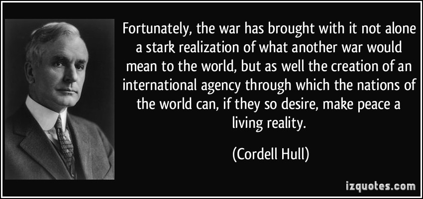 Cordell Hull's quote #2