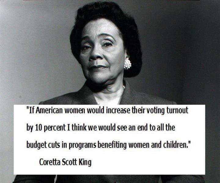 Coretta Scott King's quote #8