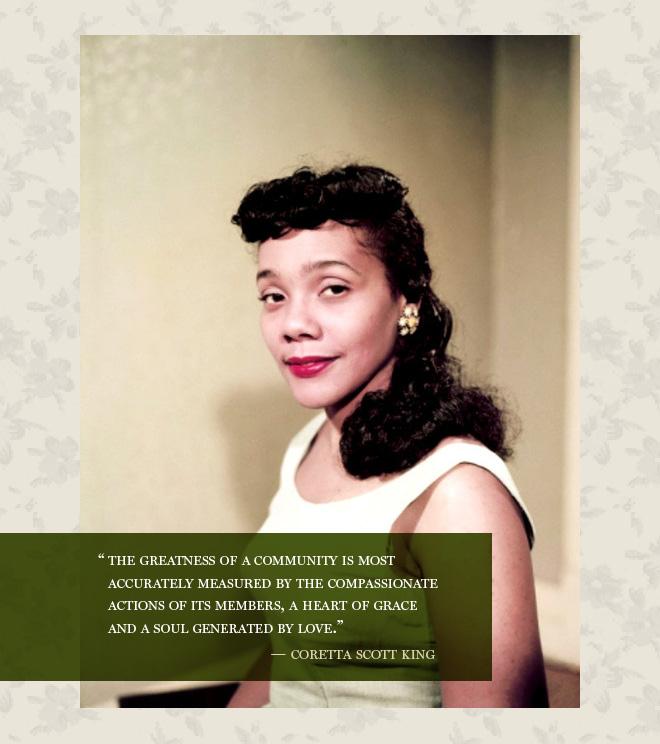 Coretta Scott King's quote #1