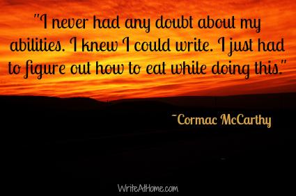 cormac mccarthy essay