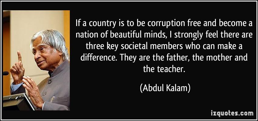 Corruptions quote
