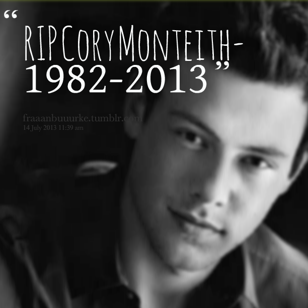 Cory Monteith's quote #1