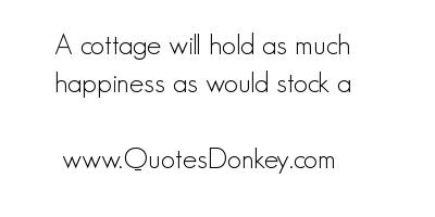 Cottage quote #1