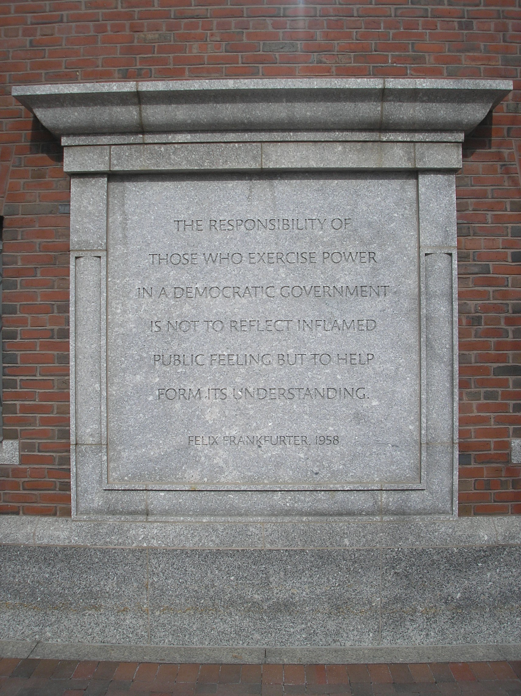 Courthouse quote