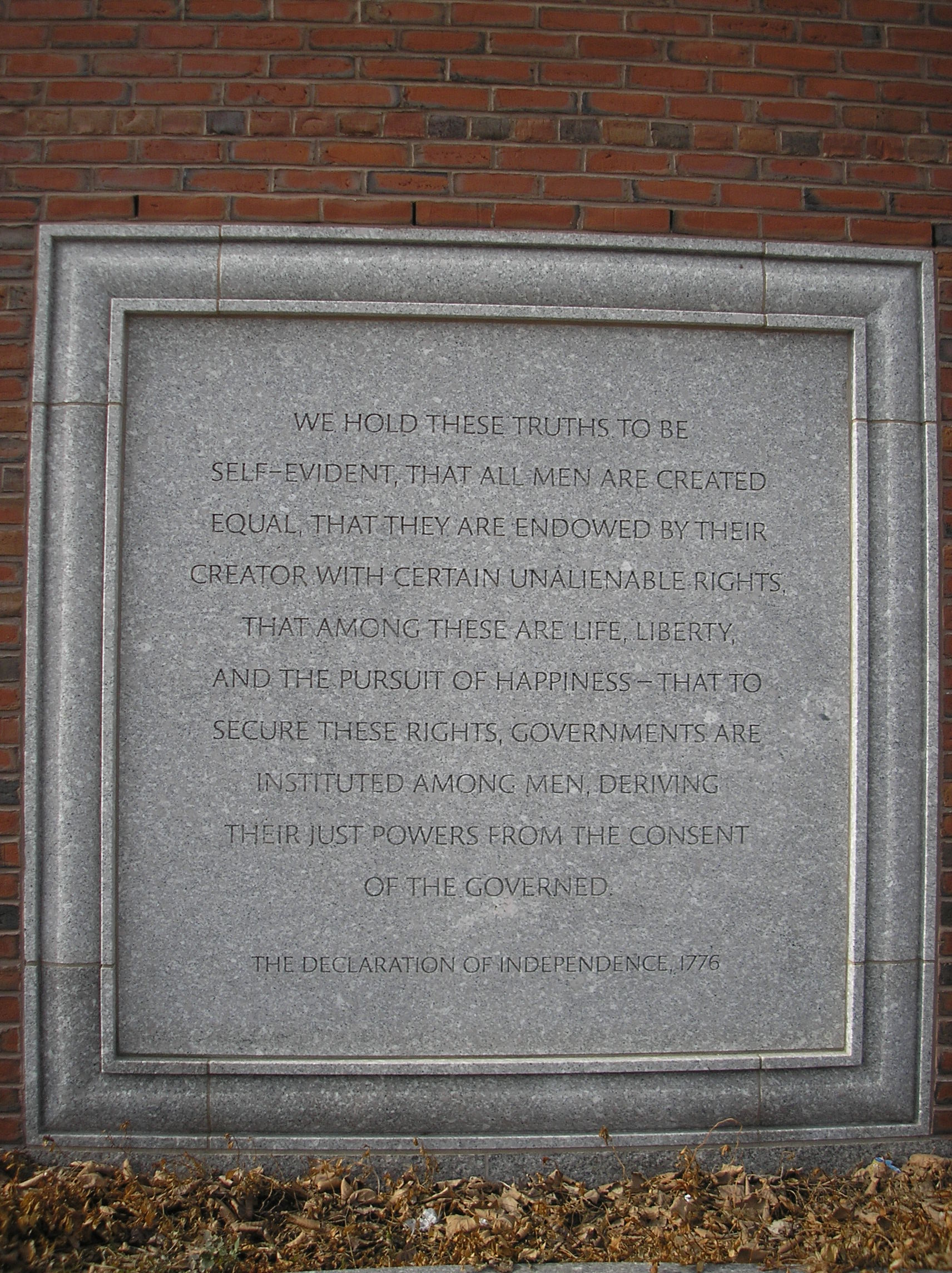 Courthouse quote #2