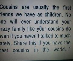 Cousin quote #1