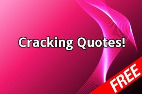 Cracking quote #1
