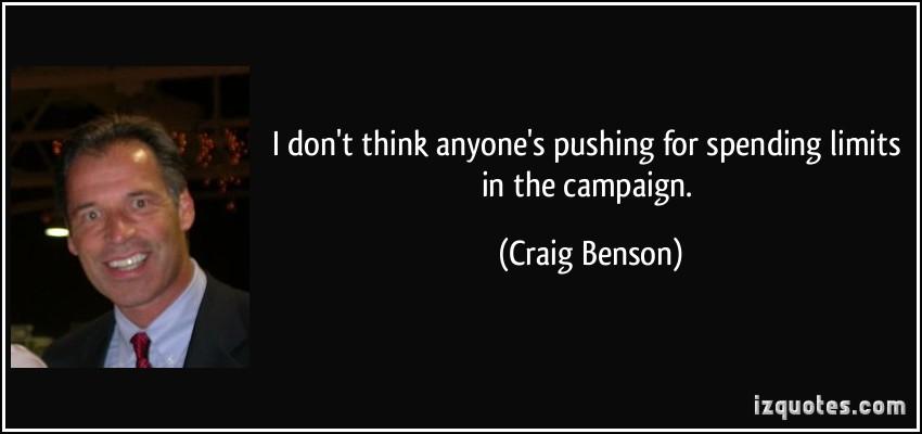 Craig Benson's quote #5