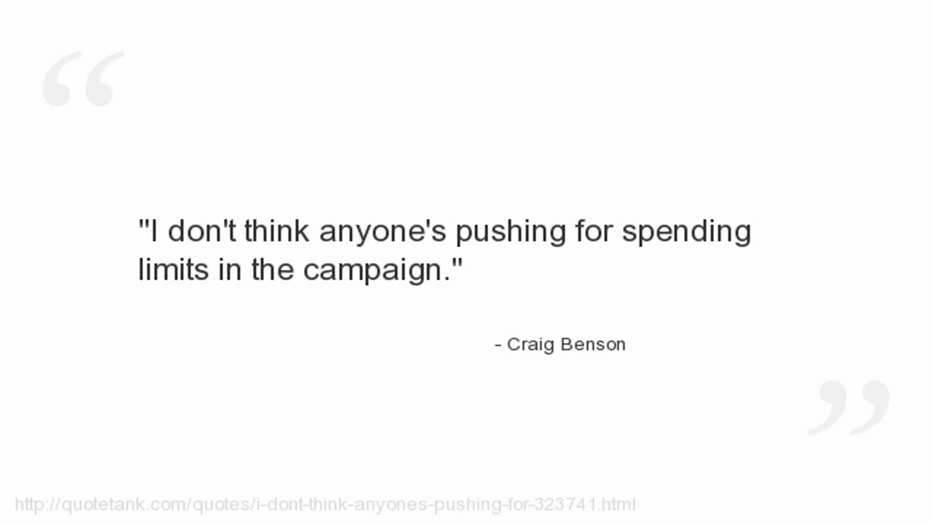 Craig Benson's quote #1