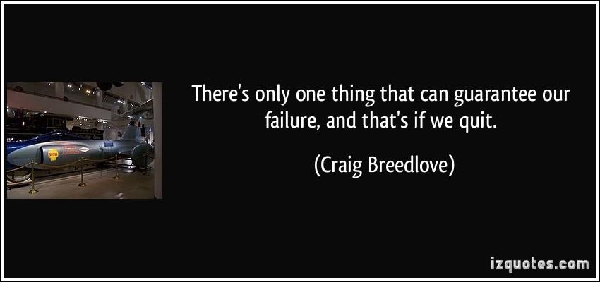 Craig Breedlove's quote #1