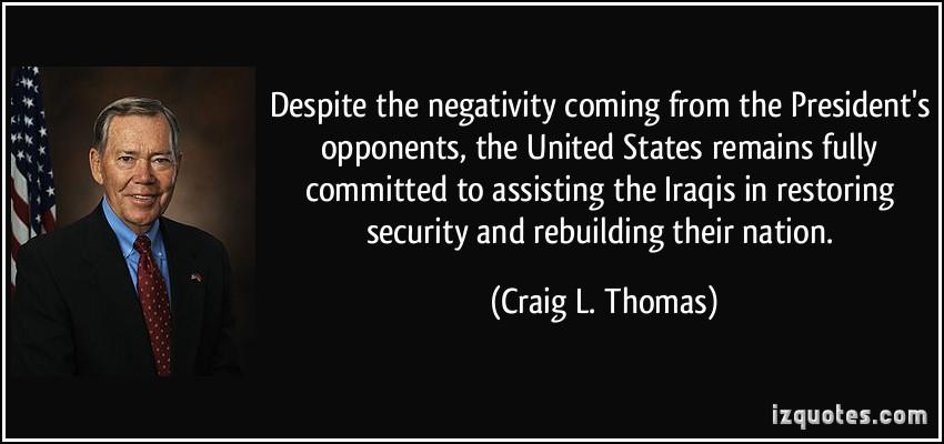 Craig L. Thomas's quote #1