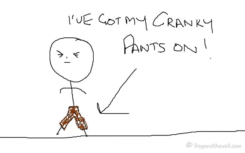 Cranky quote #1