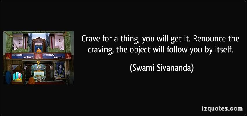 Crave quote #2