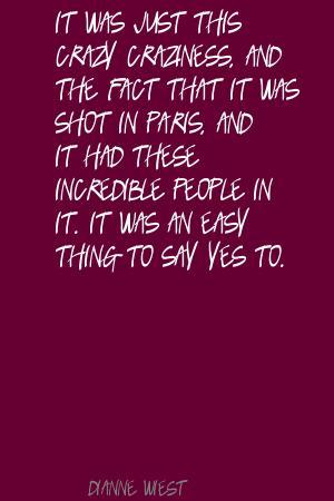 Craziness quote #3