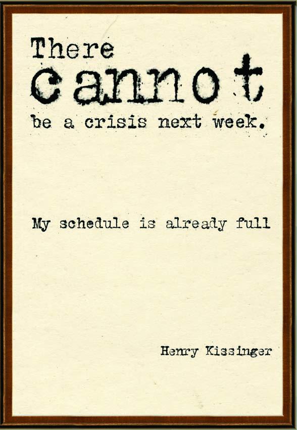 Crisis quote #3